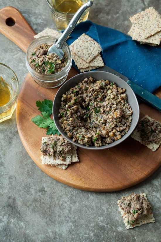 Medicinal Mushroom Recipes: Roasted Mixed Mushroom Pate from gourmandeinthekitchen.com | The Health Sessions