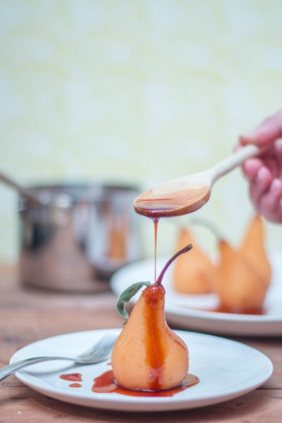 Your Favourite Fall Produce: Rooibos Red Tea Poached Pears by Jerry James Stone | The Health Sessions