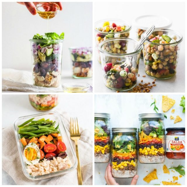 Salads To-Go: 10 Portable Salads for a Healthy Work Lunch | The Health Sessions