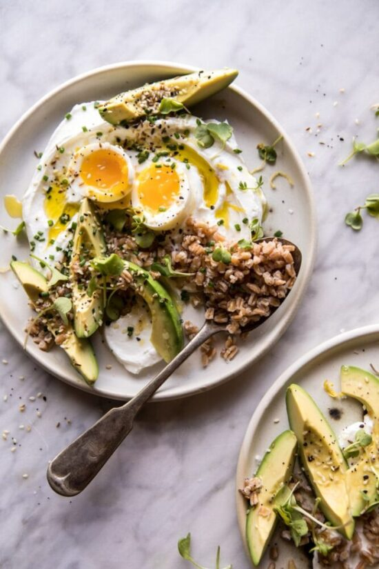 Savory Yogurt: The Best Everything Spice Egg Avocado Yogurt Bowl from Half Baked Harvest | The Health Sessions
