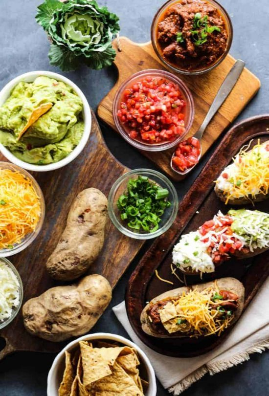 Shared Meals: Baked Potato Bar from Life A Little Brighter | The Health Sessions