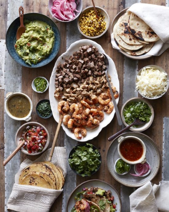 Shared Meals: Family-Style Taco Bar from What's Gaby Cooking | The Health Sessions
