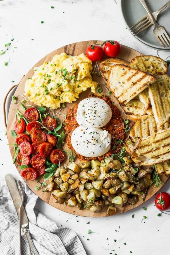 Shared Meals: Burrata Breakfast Board from Fork in the Kitchen | The Health Sessions