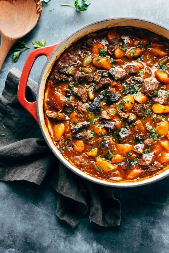 Healthy Slow Cooker Recipes: Life Changing Instant Pot Beef Stew from Pinch of Yum | The Health Sessions