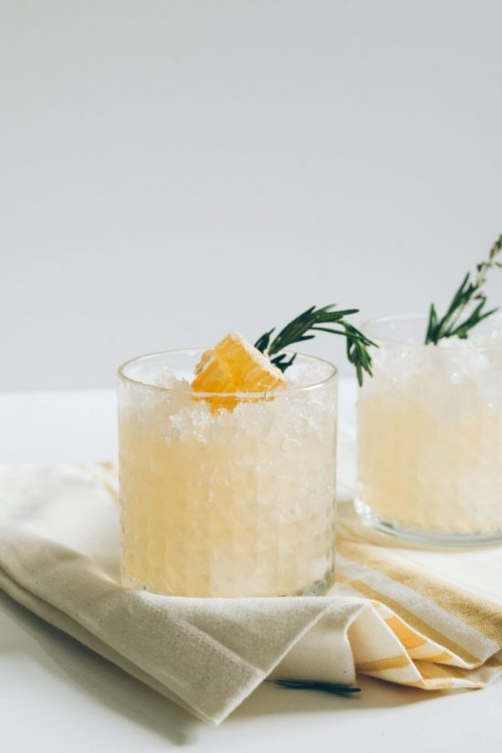 Mocktail Hour: Spring Ginger Honey Switchel Drink from Healthfully Ever After | The Health Sessions