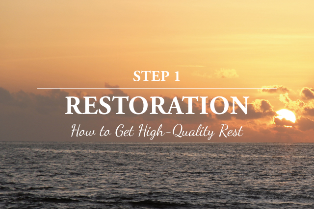 How to Create Your Own Action Plan for Recovery: Restoration | The Health Sessions