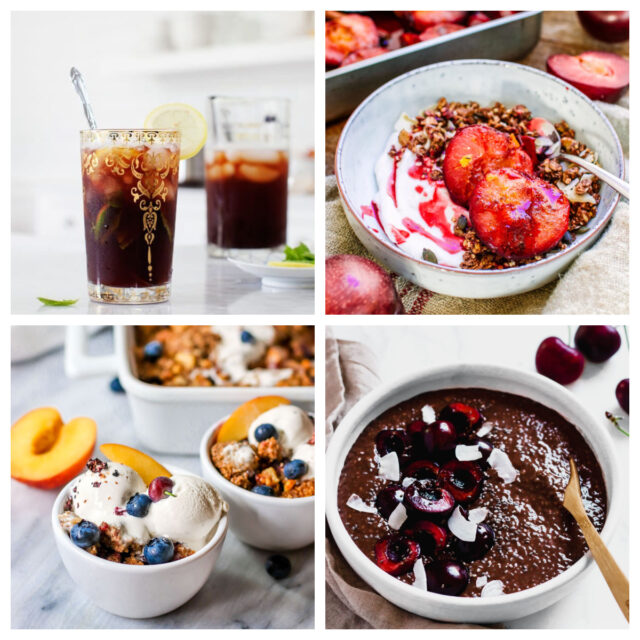 15 Sweet & Savory Stone Fruit Recipes for Summer | The Health Sessions