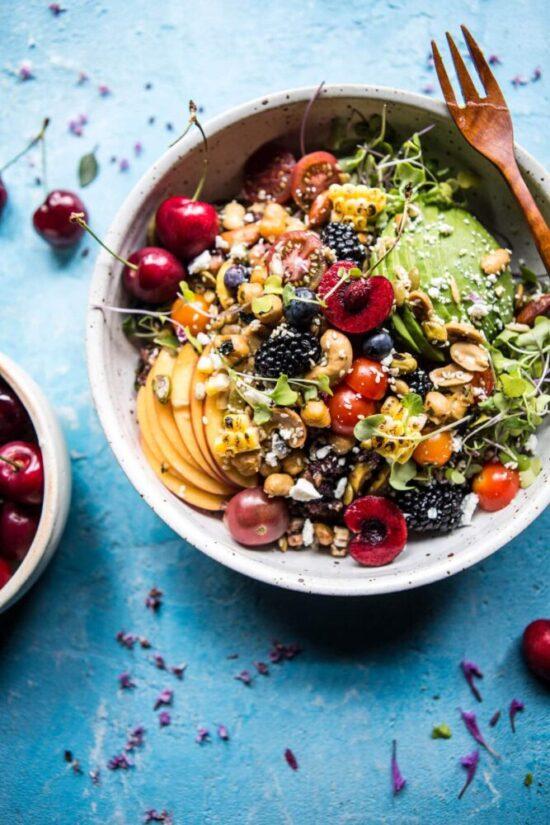 Summer Salads: Summer Abundance Salad by Half Baked Harvest   The Health Sessions