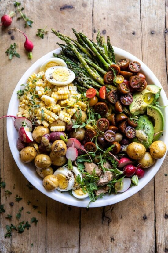 Summer Salad: Niçoise Salad fro Half Baked Harvest | The Health Sessions