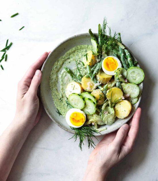 Summer Salads: Green Goddess Potato Salad from The Bojon Gourmet   The Health Sessions