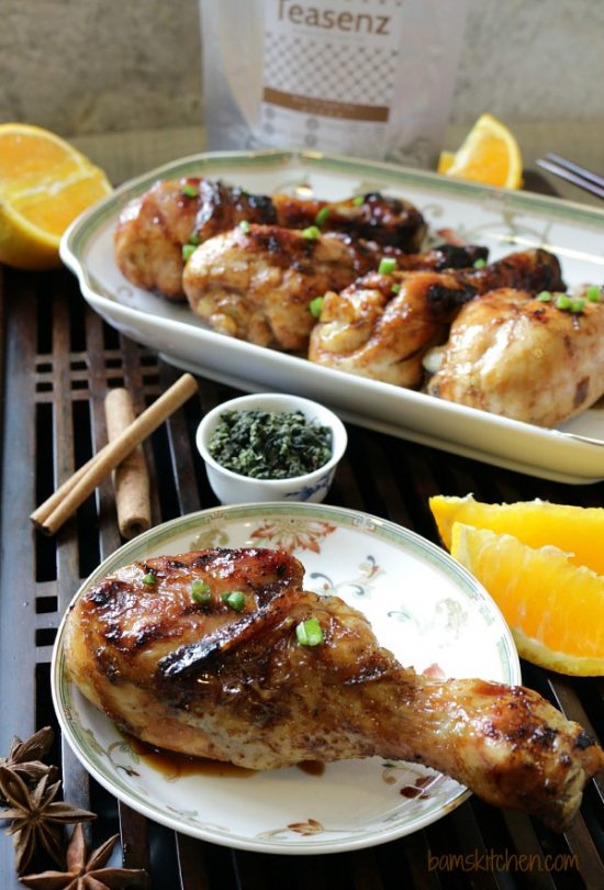 Tea Recipes: BBQ Oolong Tea Smoked Chicken from Healthy World Cuisine | The Health Sessions