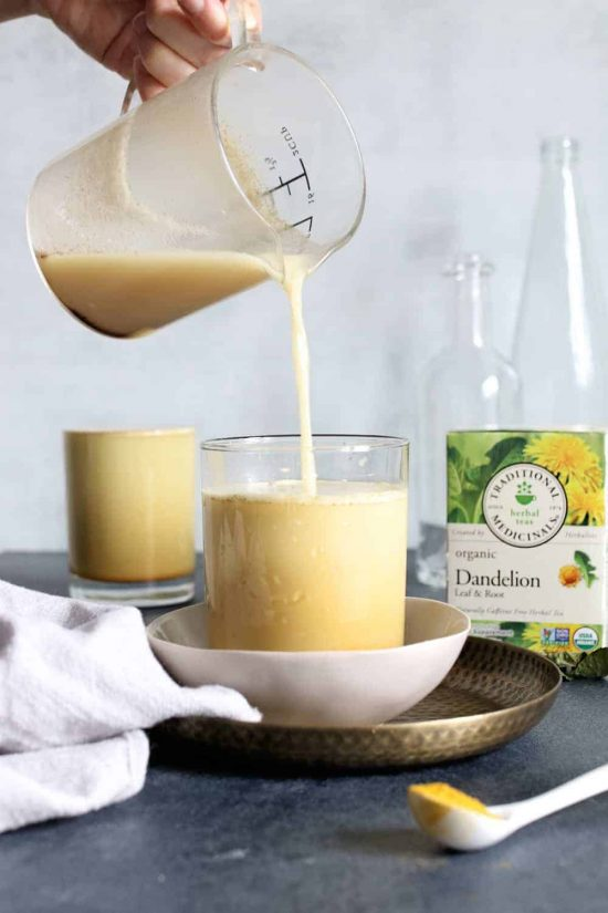 Tea Recipes: Energizing Dandelion Latte from Hello Glow | The Health Sessions