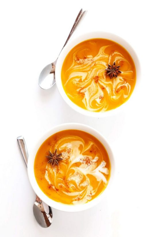 Tea Recipes: Chai-Spiced Butternut Squash Soup from Gimme Some Oven | The Health Sessions