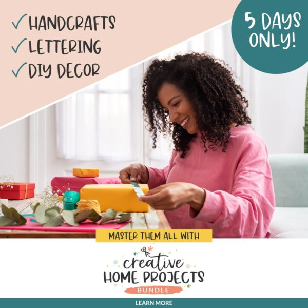 The Creative Home Projects Bundle AD