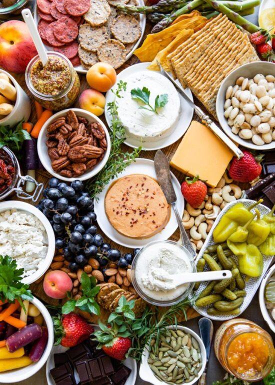 7 Vibrant Veggie Platters | The Health Sessions