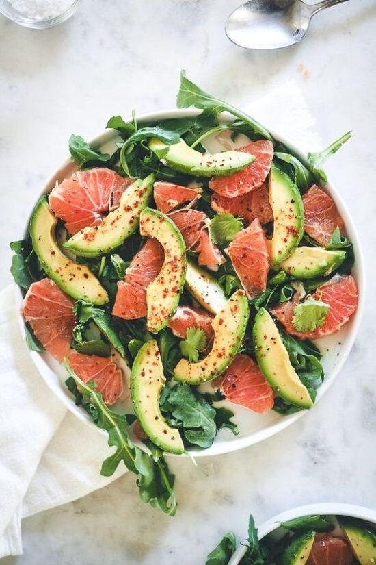 Winter Citrus Recipes: Avocado Grapefruit Salad by Fillmore Kitchen | The Health Sessions