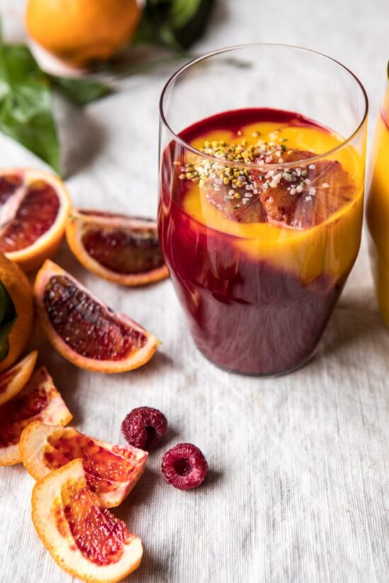 Winter Citrus Recipes: Immune-Boosting Winter Citrus Smoothie by Half Baked Harvest | The Health Sessions