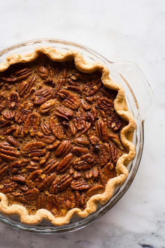 Healthy Holidays Desserts: Healthy Pecan Pie from A Sweat Pea Chef | The Health Sessions