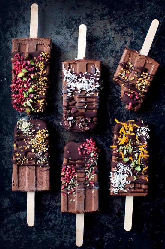 Healthy Chocolate Recipes: 5-Ingredient Magical Fudgesicles from My New Roots | The Health Sessions