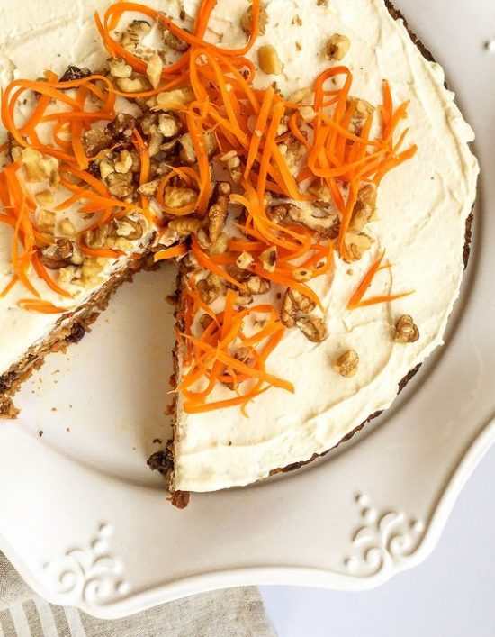 Healthy Birthday Cakes: Paleo carrot Cake from Grok Grub | The Health Sessions