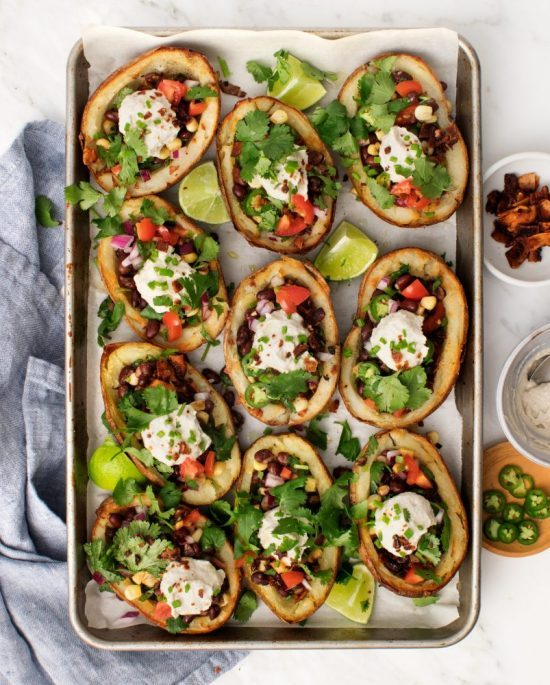 The Best of Beans: Loaded Potato Skin from Love and Lemons | The Health Sessions