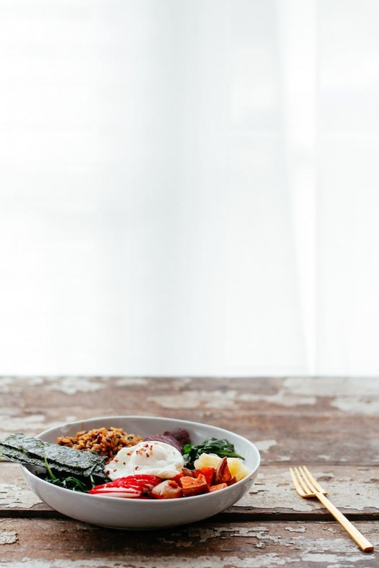 Delicious Dinner Bowls: Brown rice miso macro bowl from Nutrition Stripped   The Health Sessions