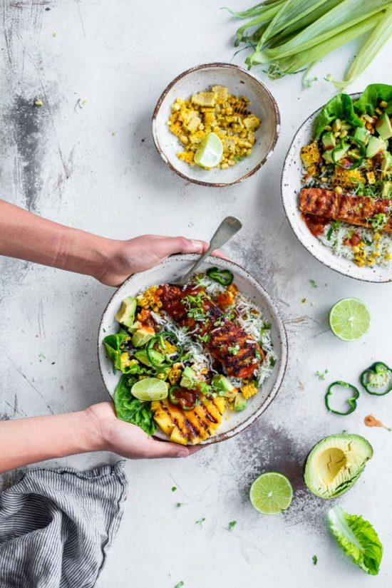 Spice Up Your Health: Crispy Salmon Burrito Bowl from Cook Republic | The Health Sessions
