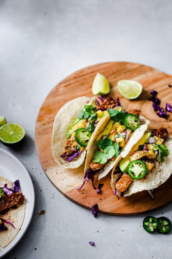Eat More Fermented Foods: Maple Glazed Tempeh with Pineapple Salsa from Murielle Banackissa   The Health Sessions