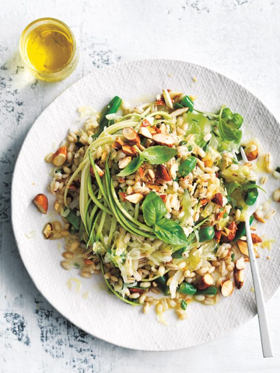 Eat More Fermented Foods: Pearl Barley and Sauerkraut Salad by Donna Hay   The Health Sessions