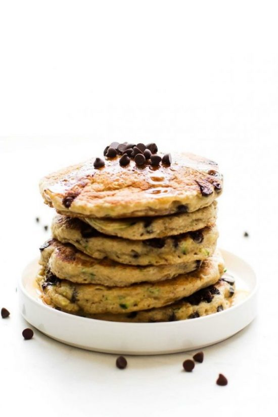 Eat Vegetables with Every Meal: Flourless Zucchini Bread Pancakes from The Big Man's World   The Health Sessions