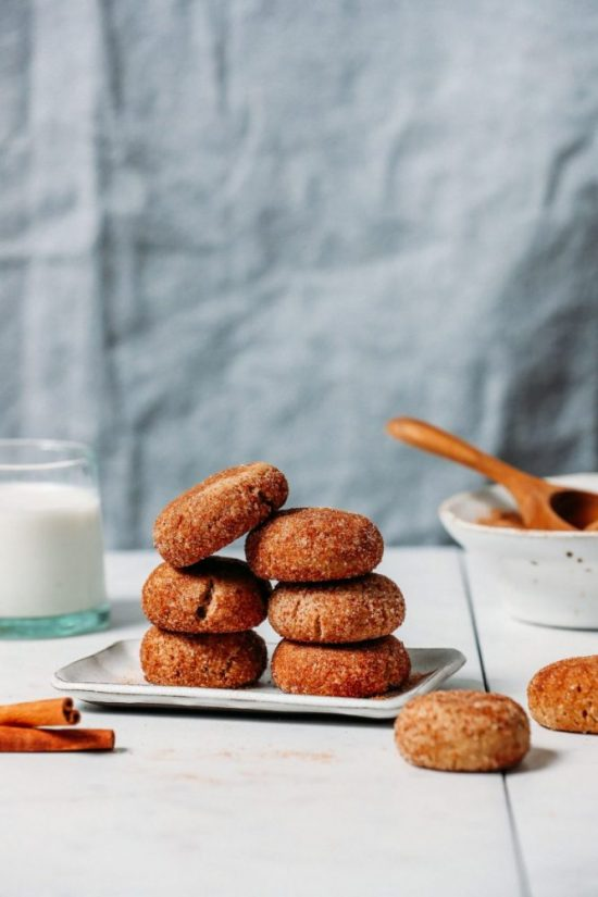 Healthy Cookies: 1-Bowl Snickerdoodle Cookies (Vegan & GF) from Minimalist Baker | The Health Sessions