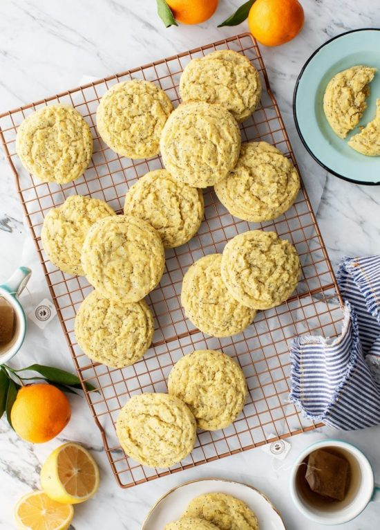 Healthy Cookies: Lemon Cookies Recipe from Love and Lemons | The Health Sessions