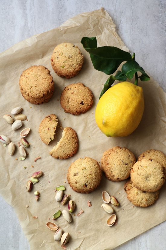 Healthy Cookies: Millet Almond and Pistachio Cookies (Gluten-Free & Vegan) from Nirvana Cakery | The Health Sessions