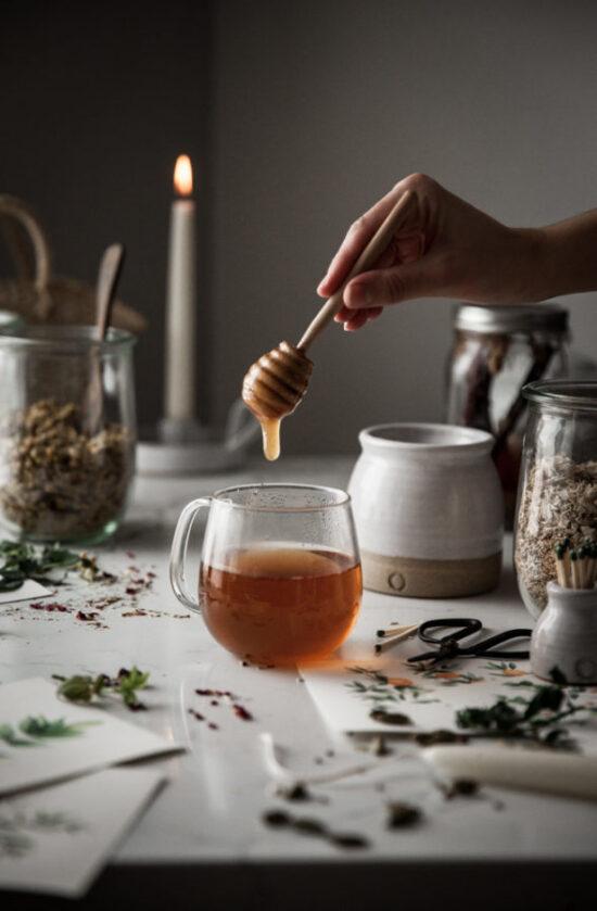 Herbal Teas: Cinnamon Rose Tea with Honey & Milk   The Health Sessions