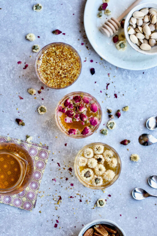 Herbal Teas: Easy DIY Floral Tea, 3 Ways from Yangs Nourishing Kitchen   The Health Sessions