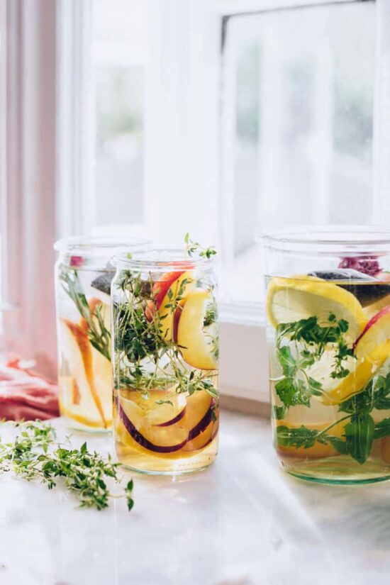 Herbal Teas: Fruit and Herb Infused Sun Tea   The Health Sessions