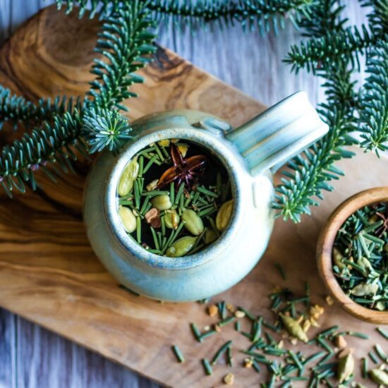 Herbal Teas: Fir Needle Forest Chai from Grow Forage Cook Ferment   The Health Sessions
