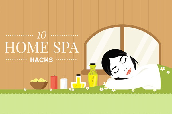 10 Home Spa Hacks | The Health Sessions
