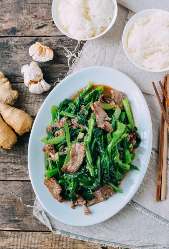 Eat More Leafy Greens: Beef with Chinese Broccoli from The Woks of Life | The Health Sessions