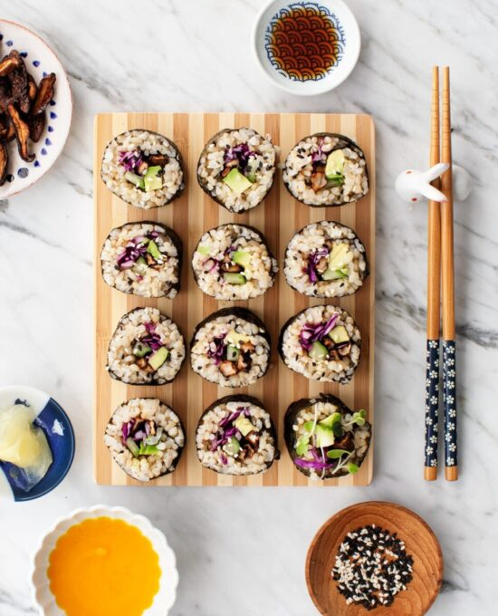 No-Cook Recipes: Maki sushi Recipe from Love and Lemons | The Health Sessions
