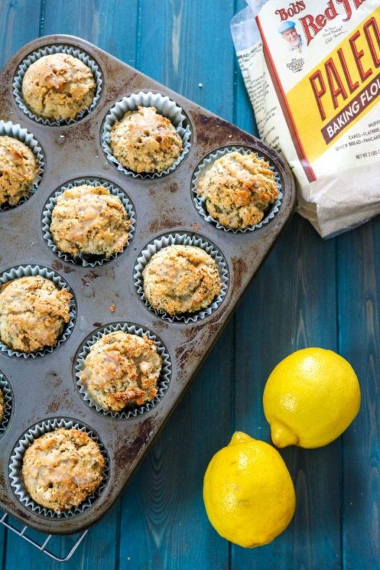 Popular Superfoods: Easy Lemon Chia Seed Muffins from A Mind Full Mom | The Health Sessions