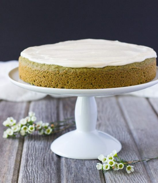 Popular Superfoods: Vegan Matcha Cake from Making Thyme for Health | The Health Sessions