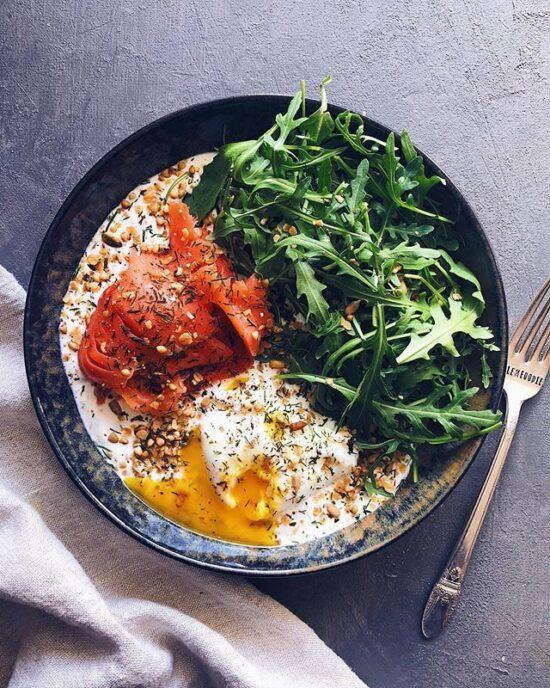 Savory Yoghurt: Savory Nordic Yogurt Bowl via The Feed Feed | The Health Sessions