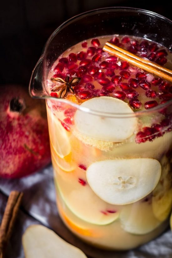 Mocktail Hour: Sober Festive Sangria from Use Your Noodles | The Health Sessions