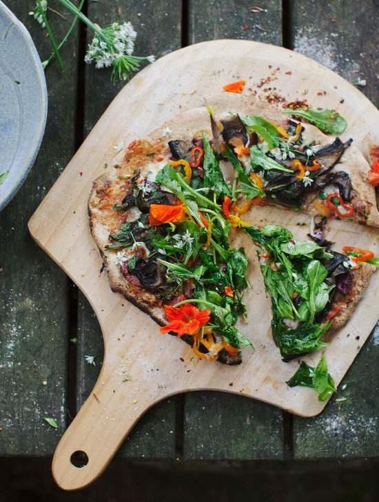 Healthy Pizza Party: Sourdough Salad Pizza by My New Roots | The Health Sessions