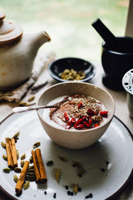 Spice Up Your Health: Chai Teff Porridge with Coconut Milk from Will Frolic For Food | The Health Sessions