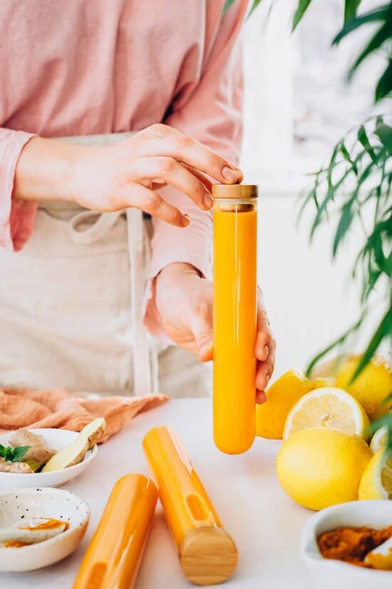 Health-Boosting Tonics & Elixirs: Immune-Boosting Ginger Shots by The Awesome Green | The Health Sessions