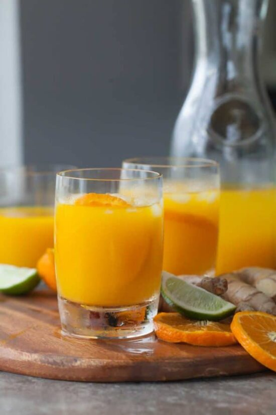 Tonics & Elixirs: Tangerine Turmeric Tonic from Gourmande in the Kitchen | The Health Sessions