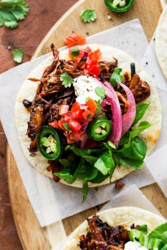 Medicinal Mushroom Recipes: Vegan Pulled Mushroom Tacos from Lazy Cat Kitchen | The Health Sessions