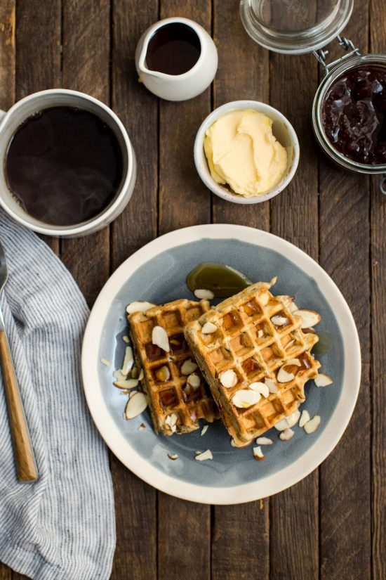 Healthy Stacks: Vegan Carrot Waffles from Naturally Ella | The Health Sessions